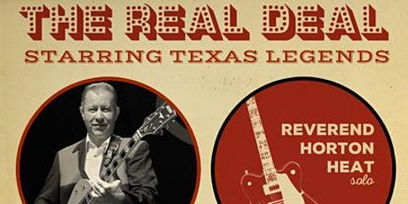 The Reverend Horton Heat and Dale Watson  (Both Solo) tickets