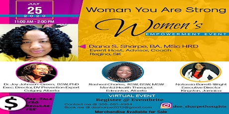 Woman You Are Strong tickets