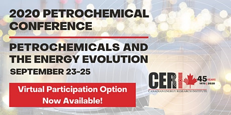 CERI 2020 Petrochemical Conference - Attend Virtually tickets