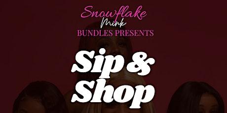 Sip & Shop tickets