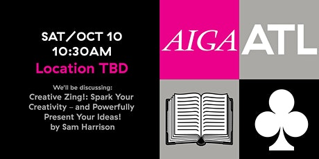 AIGA ATL Book Club -  OCT 2020 tickets