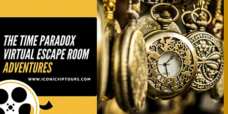 The Time Paradox Virtual  Escape Room Adventure  on ZOOM tickets