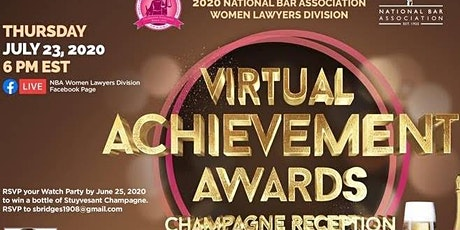 NBA-Women Lawyers Division  2020 Virtual Achievement Awards tickets