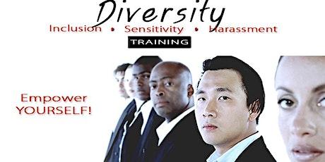 DIVERSITY & INCLUSION TRAINING, SENSITIVITY & HARASSMENT. tickets