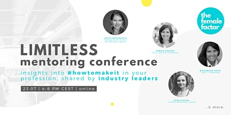 limitless mentoring | the conference by the female factor tickets