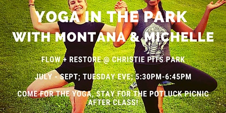 Yoga in the Park with Montana and Michelle tickets
