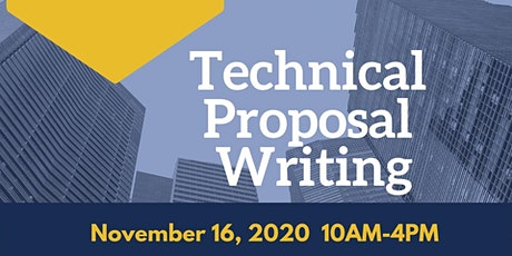 Technical Proposal Writing tickets
