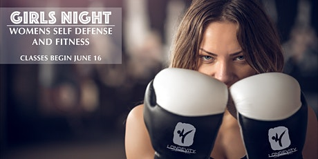 GIRLS NIGHT - WOMENS SELF DEFENSE AND FITNESS tickets