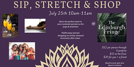 Sip, Stretch & Shop tickets