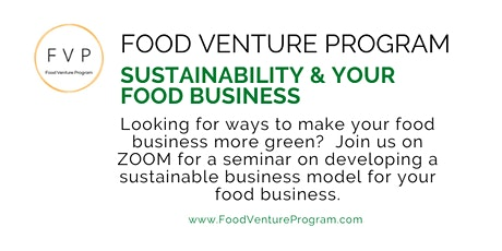 Sustainability & Your Food Business tickets