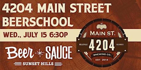 Main Street 4204 BeerSchool tickets