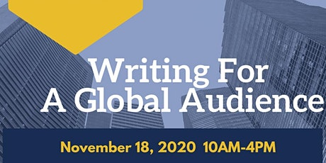 Writing For a Global Audience tickets