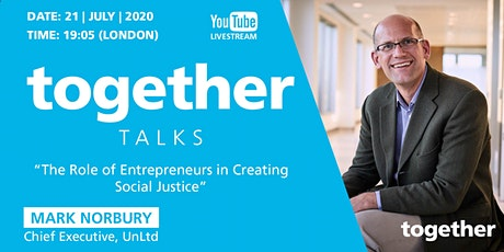 """""""The Role of Entrepreneurs in Creating Social Justice"""" with Mark Norbury tickets"""