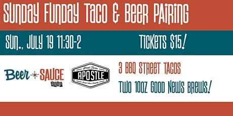 Taco and Beer Pairing with Good News Brews tickets