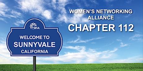 Women's Networking Alliance Ch. 112 Meeting (Sunnyvale, CA) tickets