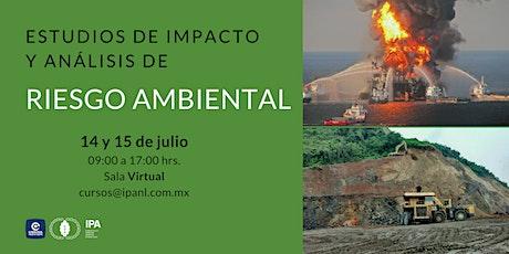 Estudios de impacto y análisis de riesgo Ambiental entradas