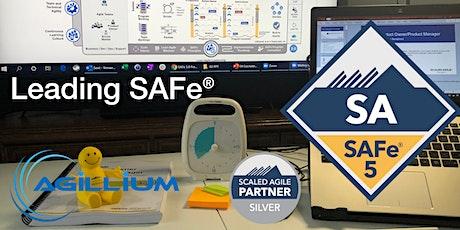 Leading SAFe® 5.0-SAFe Agilist Certification-Jul-25/26-Online EDT-Confirmed tickets
