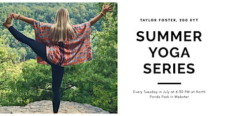 Summer Yoga Series: Vinyasa Yoga tickets