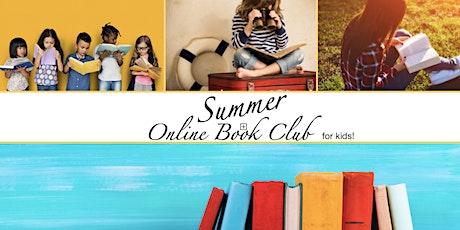 Online Summer Book Club for Kids & Teens! tickets