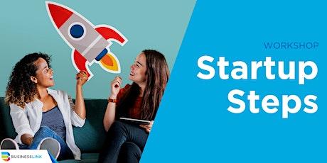 Startup Steps Virtual Workshop tickets