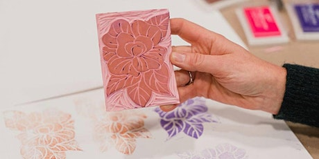 Handmade Rubber Stamps: Online Workshop with Elizabeth Castaldo tickets