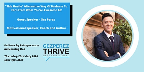 """""""Side Hustle"""" Alternative Way Of Business To  Earn From What You're.... tickets"""