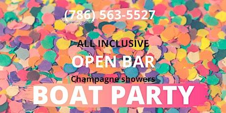 #Miami! All-INCLUSIVE! BOAT PARTY! tickets