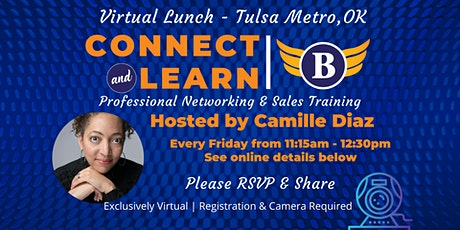 OK | Tulsa Metro Lunch - Virtual Networking and Sales Training tickets