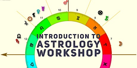 Astrology Workshop - Introduction, 3 hours, only $40 tickets
