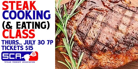 Steak Cooking (And Eating) Class tickets