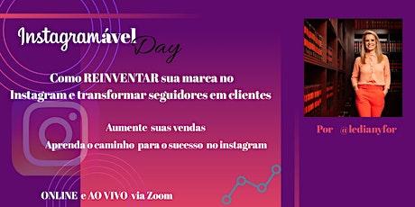 Curso Instagramável Day (27/07) ingressos