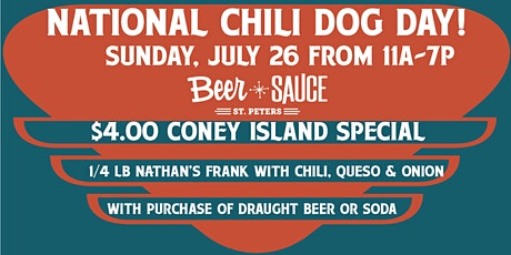 National Chili Dog Day tickets