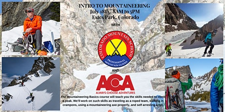 Mountaineering Basics with CMS and ACA tickets