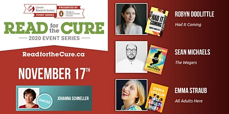Read for the Cure 17/11  [Robyn Doolittle - Sean Michaels - Emma Straub] tickets