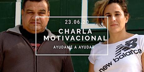 Charla Motivacional Solidaria Pilar Geijo entradas