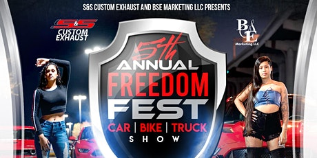 5TH ANNUAL FREEDOM FEST CAR SHOW tickets