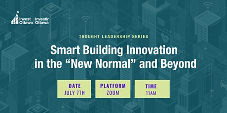 "Smart Building Innovation in the ""New Normal"" and Beyond tickets"