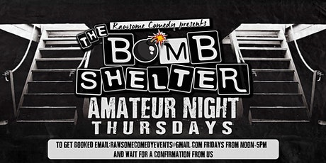 The Bomb Shelter Amateur Stand-up Comedy Night tickets