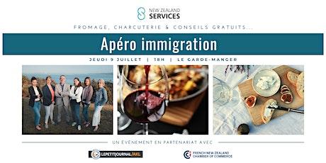 Apéro immigration NZS tickets