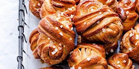 Online Baking Workshop: Swedish Cardamom Buns (Kardemmummabullar) tickets