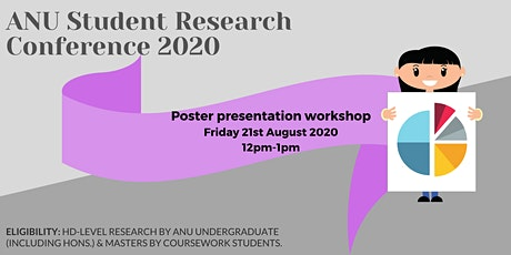 Developing and Delivering Effective Posters workshop tickets