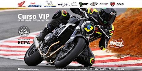 Curso de Pilotagem VIP ingressos