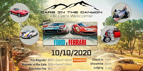 Cars in the Canyon - 10/10/2020 tickets