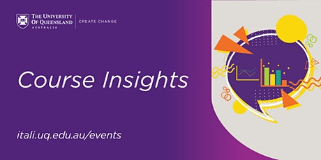 Course Insights Webinar tickets