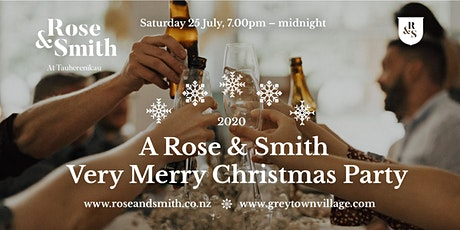 A Rose & Smith Very Merry Christmas Party tickets