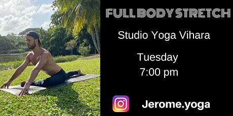 Full body stretch at Yoga Vihara tickets