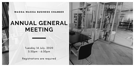 Wagga Business Chamber - Annual General Meeting tickets