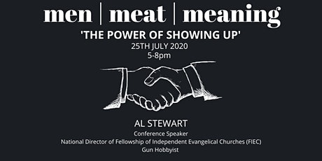 Men, Meat, Meaning: The Power of Showing Up tickets