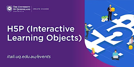 H5P (Interactive Learning Objects) Workshop tickets