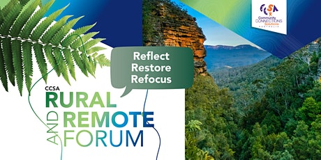 CCSA 2021 Rural and Remote Forum tickets